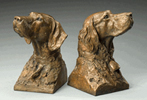 portrait pair bookends