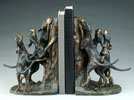 treed bookends